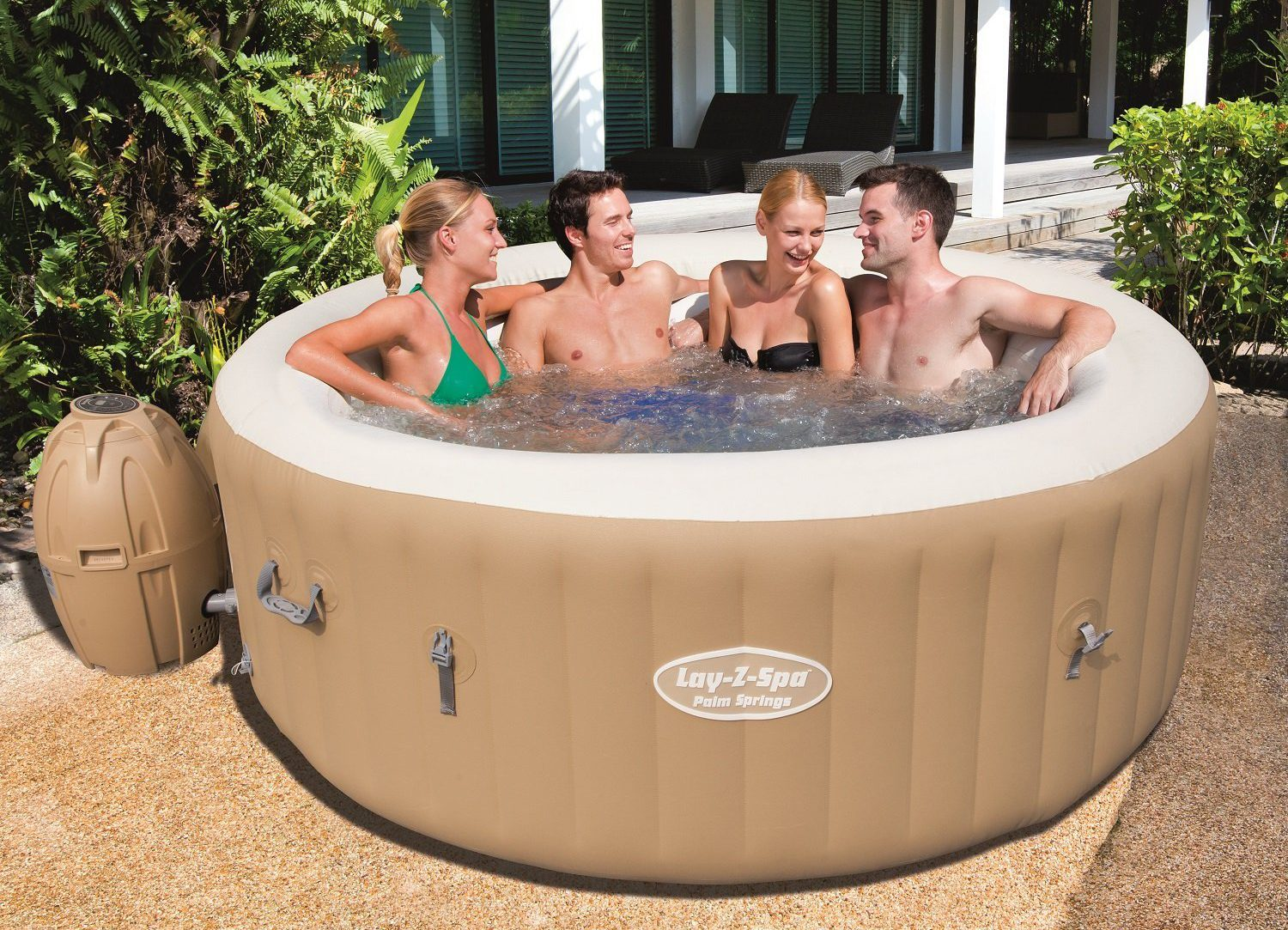 Inflatable Hot Tub Fun